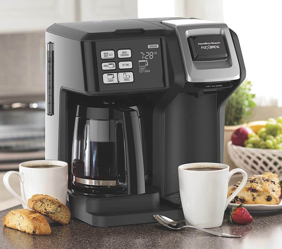 Top 7 Dual Coffee Makers – Review & Buyer's Guide